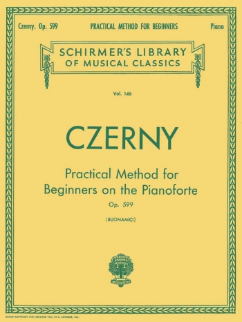Practical Method: Op.599: Piano (Schirmer)