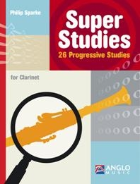 Super Studies For Clarinet (Phillip Sparke)