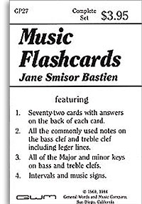 Bastien Music Flashcards