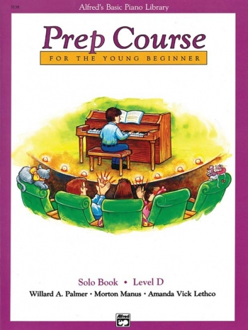 Alfred Basic Prep Course For the Young Beginner Solo Book: Level D
