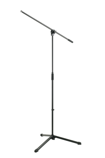 K&M 254B Microphone Stand With Boom Arm
