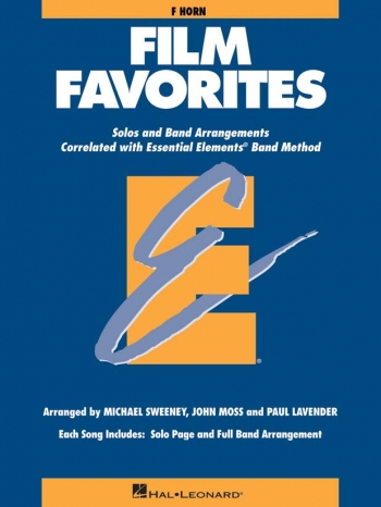 Film Favourites: French Horn Part: Solo And Band Arrangements
