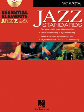Essential Elements For Jazz Play Along: Jazz Standards Rythm Section