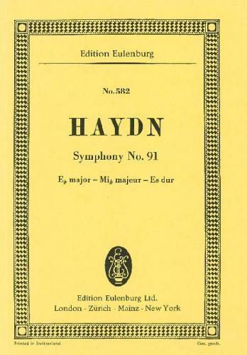 Symphony No.91: Eb Major: Miniature Score