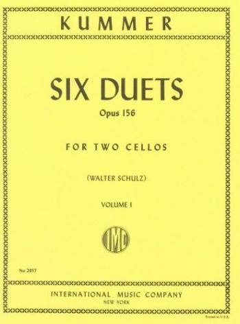 Six Duets: Op156  Vol. 1 Cello (International)