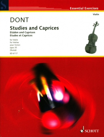 Etudes And Caprices: Violin Solo (Rostal) (Schott)