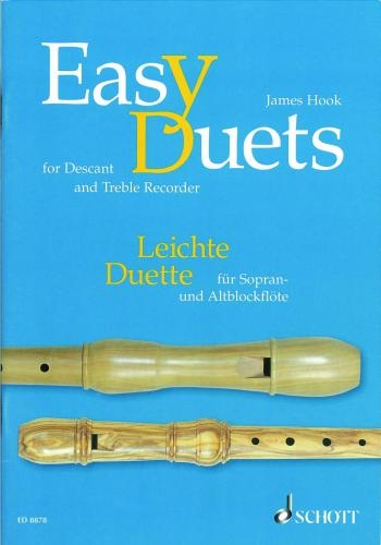 Easy Duets For Descant and Treble Recorder