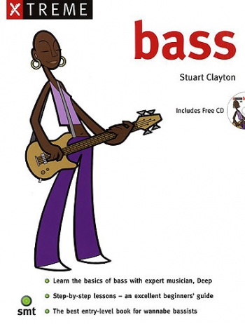 Xtreme Bass Guitar: Book & CD