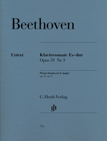 Piano Sonata Eb Major  Op.31/3: Piano (Henle)