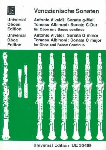 Sonata G Min and Albinoni: Sonata C Major: Oboe & Piano
