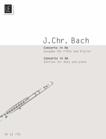 Concerto D Major Flute & Piano (Universal)