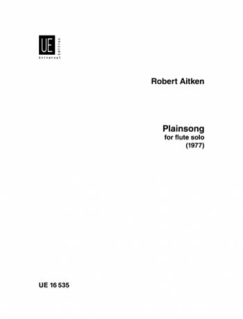 Plainsong: Flute Solo (Universal)