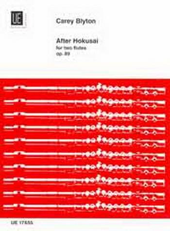 After Hokusai: Op89: 2 Flutes