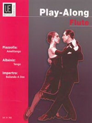 Play Along Flute: Piazzolla: Albeniz: Impoerto: Book & CD