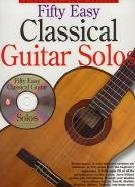 50 Easy Classical Guitar Solos: Tab Book & CD
