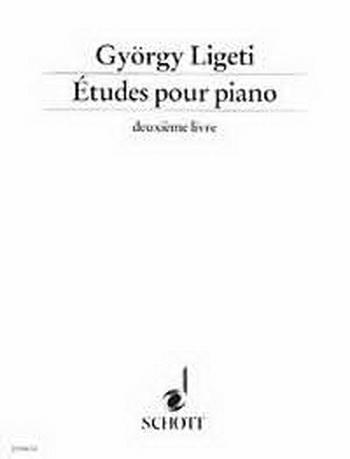 Etudes Pour Piano: Deuxième Livre (studies For Piano) (Schott)