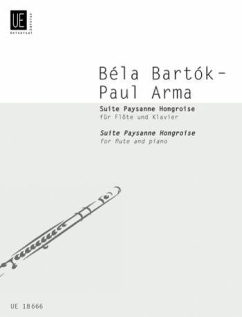 Suite Paysanne Hongroise for Flute & Piano (Universal)