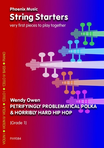 String Starters - Petrifyingly Problematic Polka - String Ensemble - Score and Parts  - Grade 1 (owe