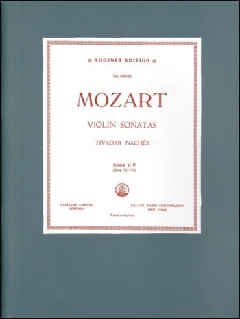 Sonatas: Nos 15-19: Violin and Piano