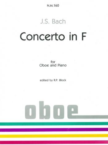 Concerto In F: Oboe & Piano (Nova)