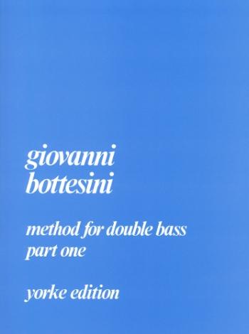 Bottesini Method For Double Bass: Vol.1