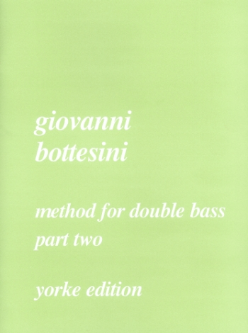 Bottesini Method For Double Bass: Vol.2