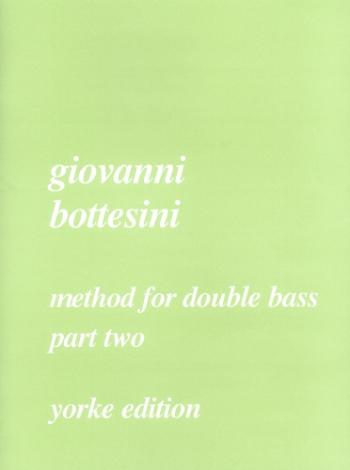 Bottesini Method For Double Bass: Vol.2