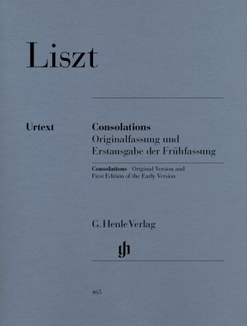 Consolations  Piano (Henle)