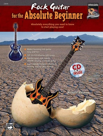 Rock Guitar For The Absolute Beginner: Bk & Cd