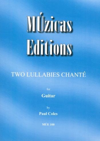 2 Lullabies Chante: Guitar