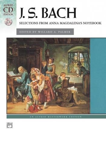 Anna Magdalena Notebook: Piano: Book & Cd (Alfred)