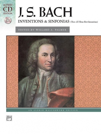 Inventions & Sinfonias (Two- & Three-Part Inventions): Piano Book & CD (Alfred)