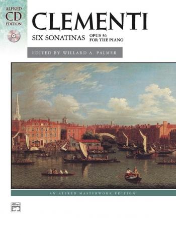 Six Sonatas, Op. 4 (Op. 37, 38) Piano Book & CD (Alfred)