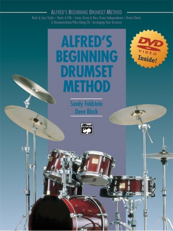 Alfreds Beginning Drumset Method: Book And DVD