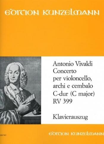 Concerto Rv399: Cello & Piano (Peters)