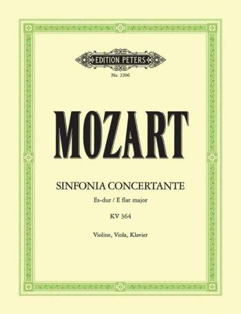 Mozart: Sinfonia Concertante: Eb: Violin, Viola And Piano