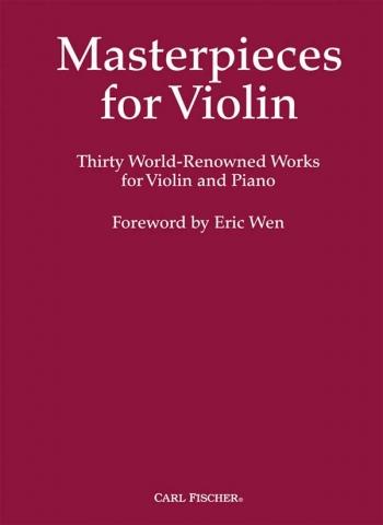 Masterpieces For Violin: Violin