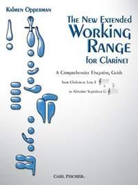 New Extended Working Range For Clarinet: Fingering Guide