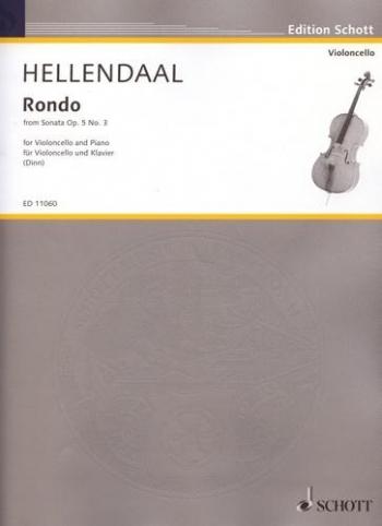 Rondo From Sonata Op5: 3: Cello & Piano  (Schott)