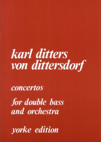 Concertos No 1 & No 2 In D: Double Bass & Piano (Yorke)
