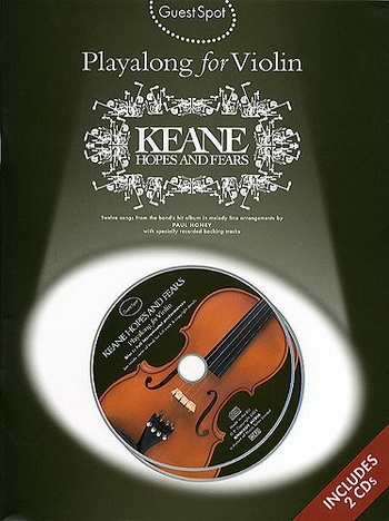 Guest Spot: Keane Hopes And Fears: Violin: Book & CD
