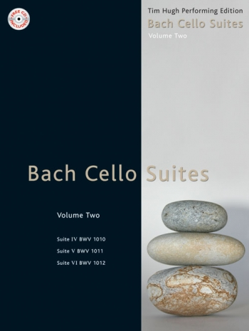 6 Cello Suites Bwv1007-1009: Vol.2  Book & CD (Mayhew)