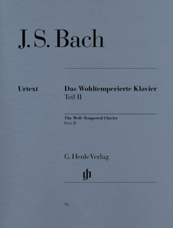 Well-Tempered Clavier Vol.2: Piano (Henle)