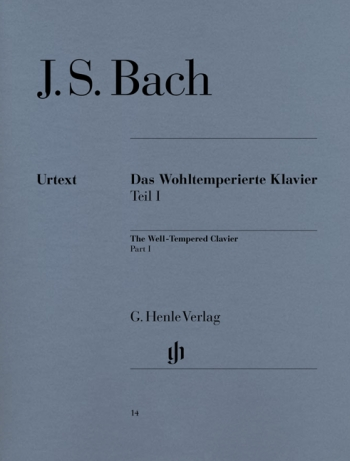 Well-Tempered Clavier Vol.1: Piano (Henle)