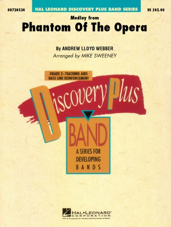 Discovery Plus: Phantom Of The Opera Medley: Concert Band Score & Pts