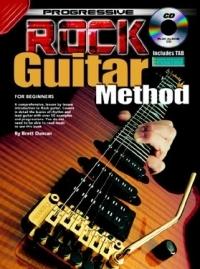 Progressive Rock Guitar Method: Book & CD (duncan)