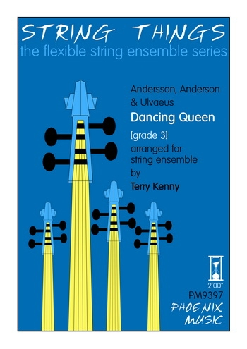 String Things - Dancing Queen - String Ensemble - Score and Parts - Grade 3