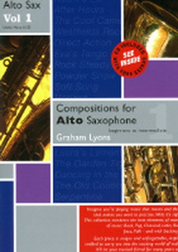 Compositions For Alto Saxophone: Vol.1 Book & CD (Lyons)
