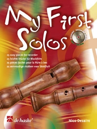 My First Solos: Recorder: Bk & Cd