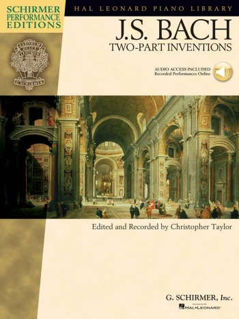 Two Part Inventions: Schirmer Performance: Piano (Hal Leonard)